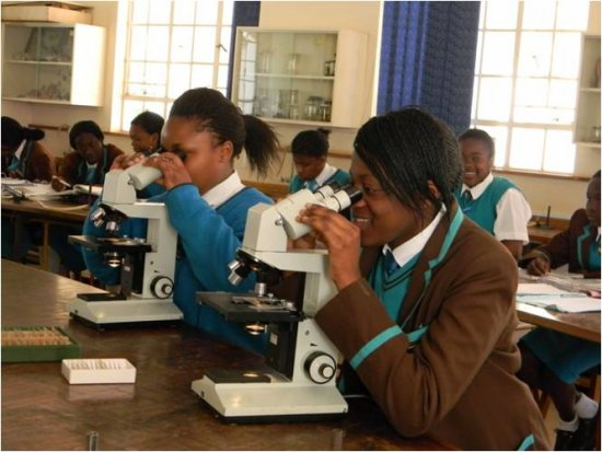 Middle School Students from Arundel Girls' School, Harare, Zimbabwe